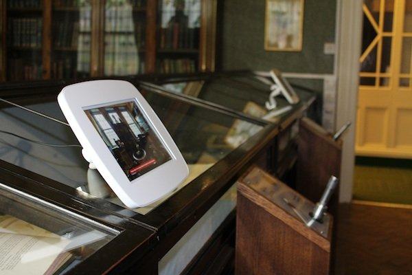 Virtual tour & audio pens at Buxton Museum