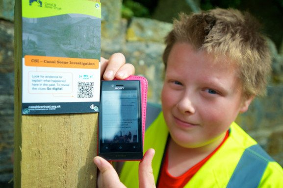 Interactive heritage trails