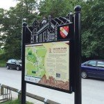 Manor Park panel for the Old Glossop Trail