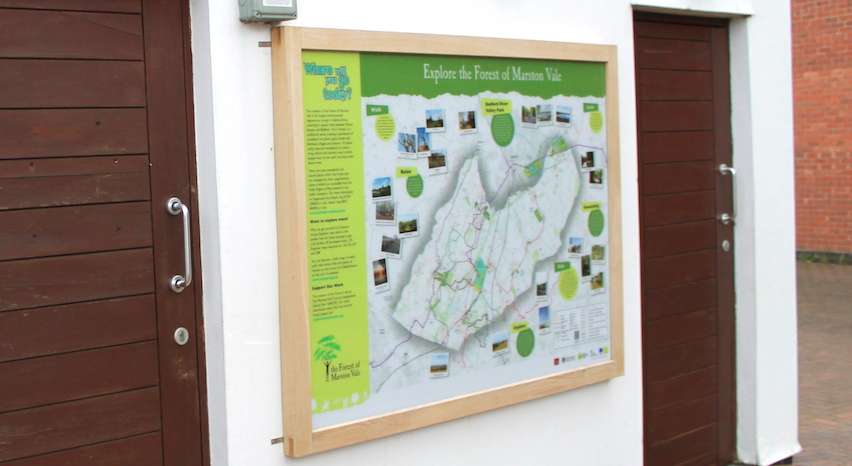 Forest of Marston Vale panels