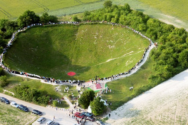 Lochnagar Crater - Image courtesy of Georges Vandenbulke © 2011 (http://www.lochnagarcrater.org/)