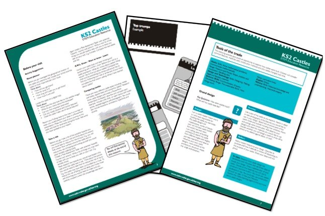 Cadw Castles Education Pack