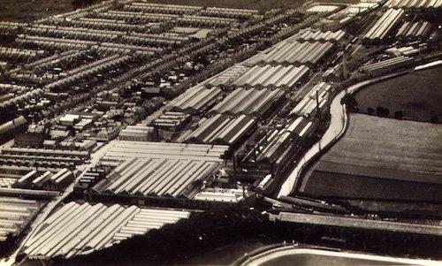 Milton Keynes from the air