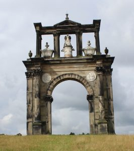 Shugborough's Triumphal (or Hadrian's) Arch