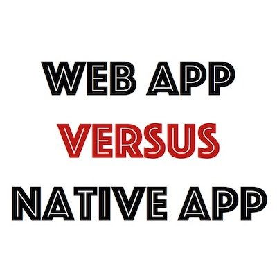 Native of web app?