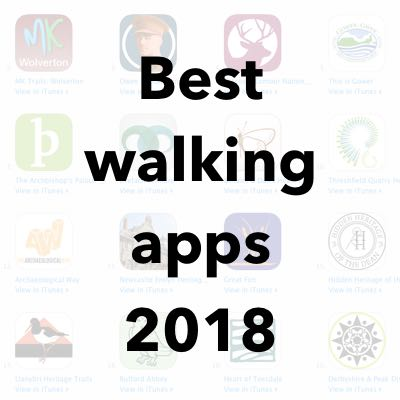 Best walking apps 2018